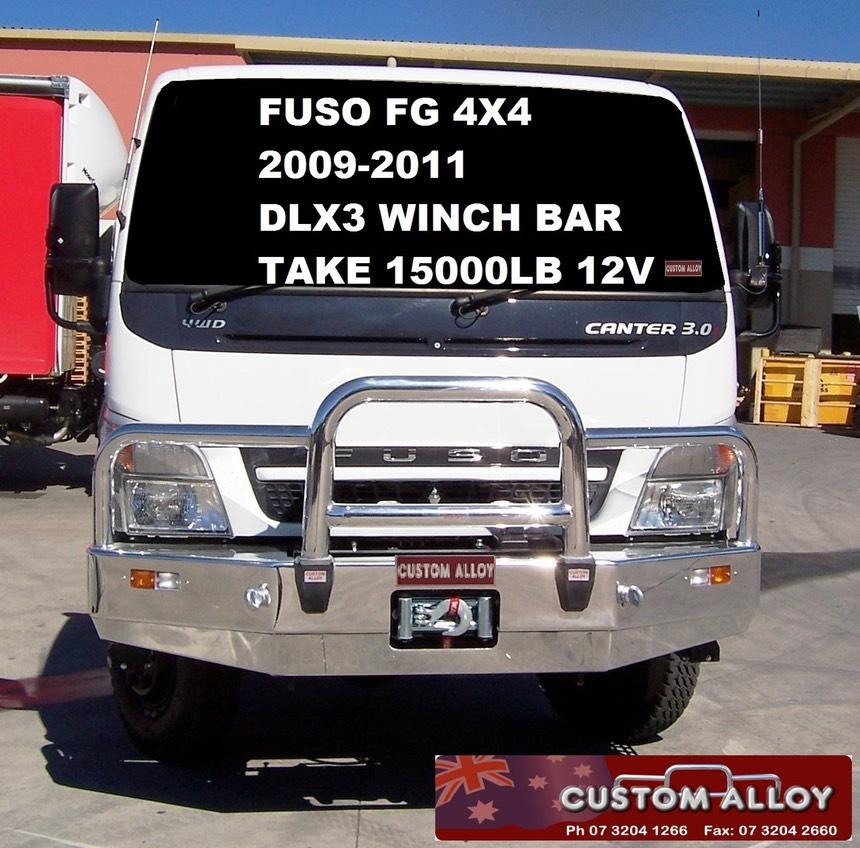 FUSO CANTER FG 4x4 2009 - 20011 | ACM BullBars